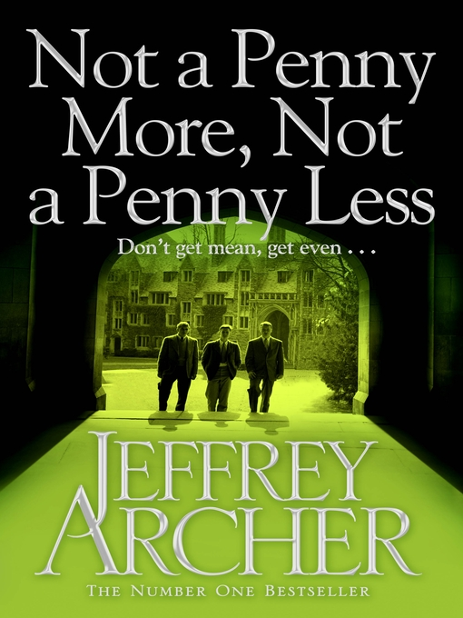 Not a Penny More, Not a Penny Less (eBook)